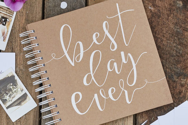 Best Day Ever Envelope Guest Book