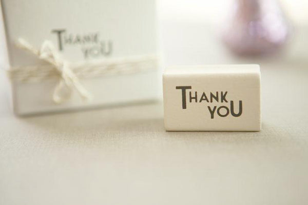 Thank You' Rubber Stamp
