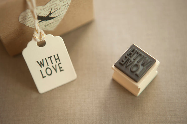 With Love' Rubber Stamp