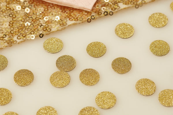 Gold Shimmer Table Confetti