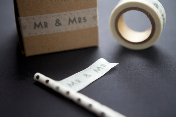 Mr & Mrs Paper Tape
