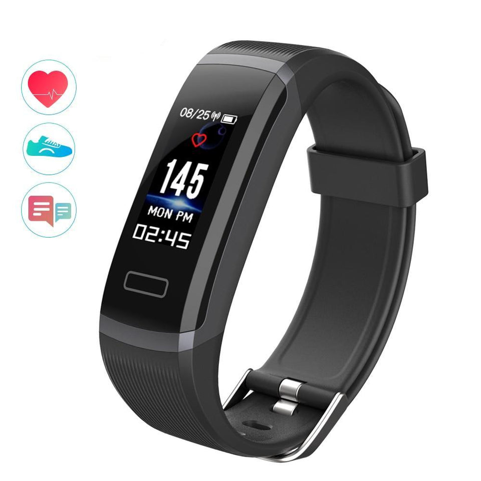 Bluetooth Color Screen Smart Bracelet Waterproof Fitness Tracker