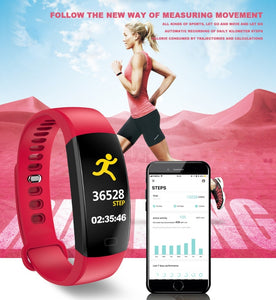 Smart Wristband Heart Rate Monitor