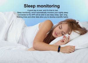 Sleep Tracker Bracelet - Helen Watch
