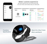 IP67 Waterproof Smart Watch 1.3 Inch 240*240 Tempered Glass Screen