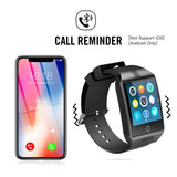 Bluetooth Smartwatch Fitness Tracker for iPhone Android Smartphone