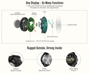 Fitness Tracker Watch Waterproof