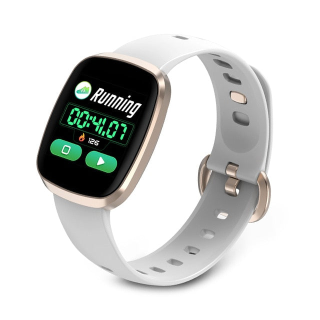 Full Screen Touch Smart Watch Waterproof Fitness Tracker for iPhone