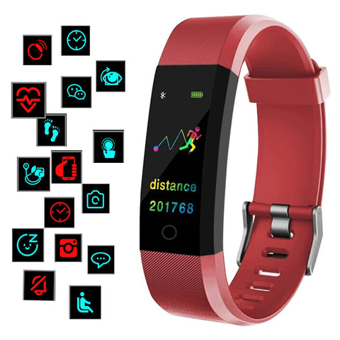 Bluetooth Activity Tracker With Heart Rate