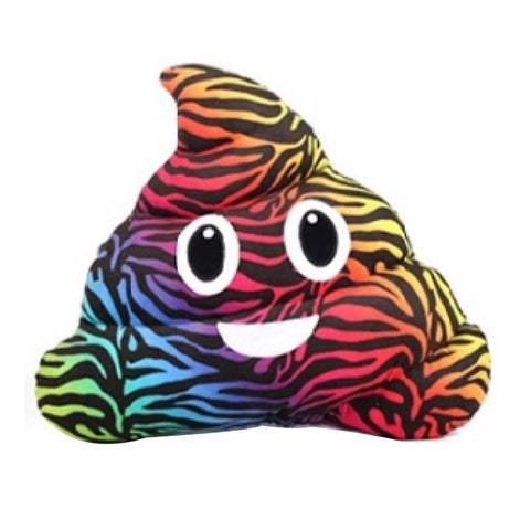Amusing Emoji Emoticon Cushion Smile Poo Shape Pillow Doll