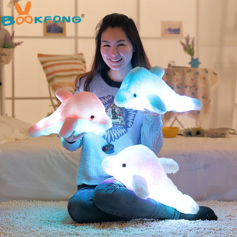 Cute Dolphin Led cushion