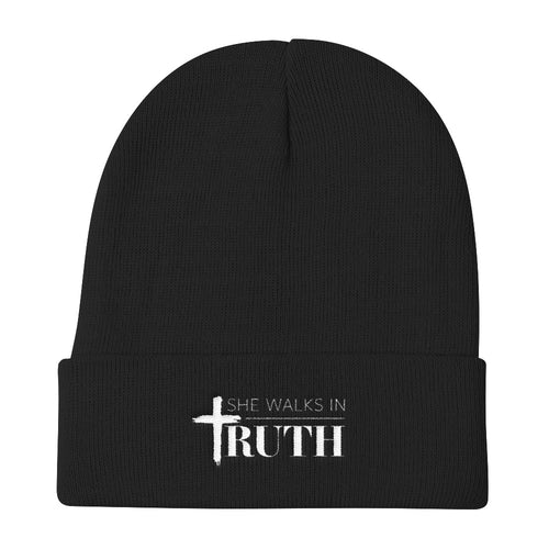 She Walks In Truth® Knit Beanie