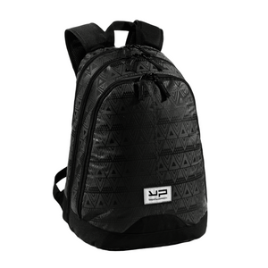 Black Backpack With Expandable Compartment - Bodypack