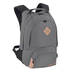2 Compartments Flecked Grey Backpack - Bodypack