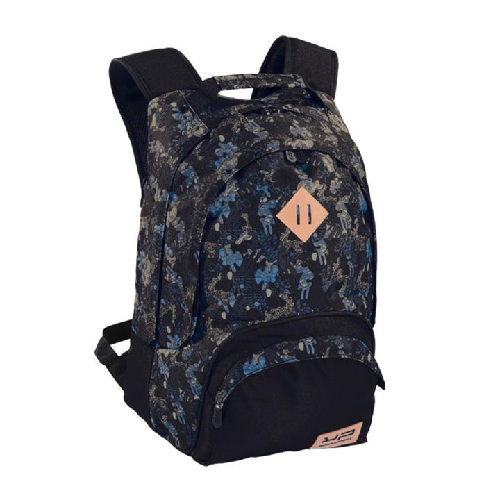 2 Compartments Blue Camo Backpack - Bodypack