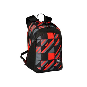 Red Backpack Expandable Compartment - Bodypack