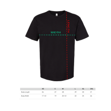Load image into Gallery viewer, DISCO BODY PARTS TEE - BLACK