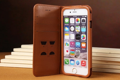 Best Genuine Leather iPhone 6 6+ Wallet Case - firstcellphoneadvantage.com