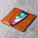 Genuine Leather Wallet for Smart Phones - firstcellphoneadvantage.com