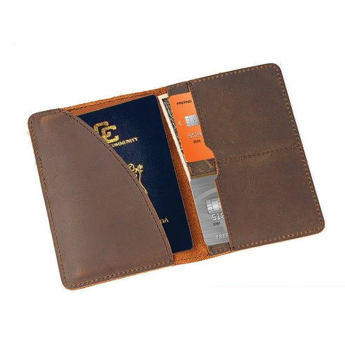 Genuine Leather Passport Wallet - firstcellphoneadvantage.com