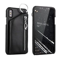 Genuine Leather iPhone X Pocket Case - firstcellphoneadvantage.com