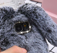Fluffy Rabbit Fur Case - firstcellphoneadvantage.com