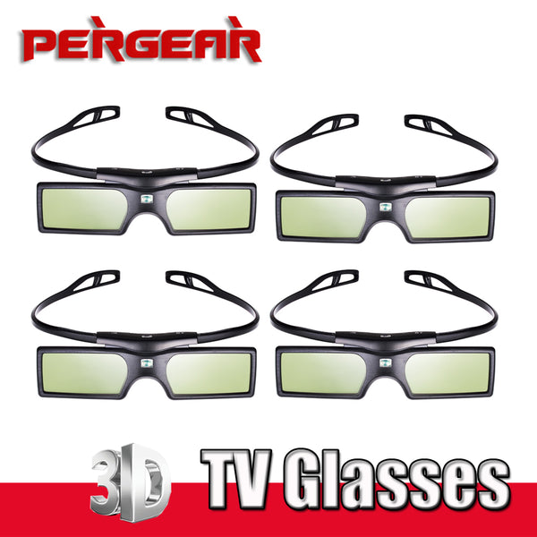 4pcs/lot Bluetooth Active Shutter 3D TV Glasses Virtual Reality for Samsung Sony LG Panasonic TV HDTV 3D TV HDTV Blue-ray Player - firstcellphoneadvantage.com