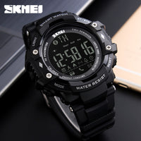 SKMEI WristWatch Bluetooth Smart Watch Waterproof Sport Pedometer Camera Smartwatch For Apple IOS and Android Digital Watch - firstcellphoneadvantage.com