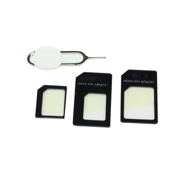 4 Pcs Beautiful Gift Convert Nano SIM Card to Micro Standard Adapter For iPhone HIgh Quality Free Shipping Hot Sale Brand #2010 - firstcellphoneadvantage.com