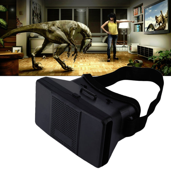 Universal 3D VR Glasses Head Mount Virtual Reality Google Cardboard Headset DIY 3D Movie Game Video Glasses For 4-6 Smartphones - firstcellphoneadvantage.com