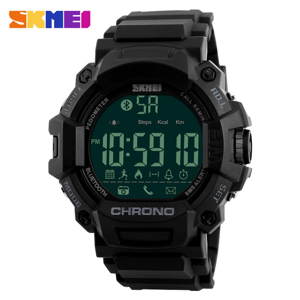 SKMEI Men Smart Watches Pedometer Waterproof Digital Wristwatches Man Remote Camera Call Reminder Smartwatch Relogio Masculino - firstcellphoneadvantage.com