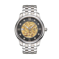 SUNBLON S510 Men's Stainless Steel Mechanical Hollow out all Watch Movement - firstcellphoneadvantage.com