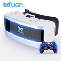 UGP All In One 5.5Inch 1080P 3D VR Glasses With Bluetooth Gamepad Game Controler VR Glasses For Virtual Reality Game Video Moive - firstcellphoneadvantage.com