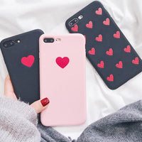 Red Heart Silicone Case