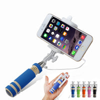 Foldable Wired Selfie Stick - firstcellphoneadvantage.com