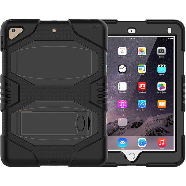 Full Body Protect iPad Scratch-proof Protection Shell Built-in Kickstand iPad Case for iPad 9.7 inch - firstcellphoneadvantage.com