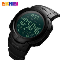 Luxury Brand SKMEI Fashion Smartwatch Sport Calorie Remote Camera Digital Watch Men For iPhone Android Bluetooth Sports Watches - firstcellphoneadvantage.com