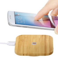 Slim Wood Pad Charger