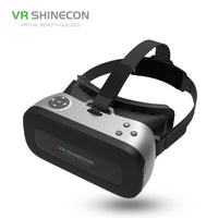 VR SHINECON New ALL IN ONE 3D VR Glasses Helmet PRO Virtual Reality OTG Glasses 5.5 inch 1080P 3D BOX For VR Games Videos Films - firstcellphoneadvantage.com