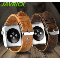 Luxury Band Strap Leather Bracelet Watchband For Apple Watch iWatch 38/42mm - firstcellphoneadvantage.com