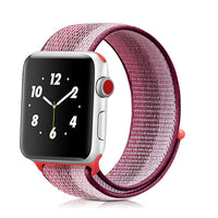 CRESTED Sport Loop For Apple Watch band strap 42mm 38mm Woven Nylon iwatch 3/2/1 wristband bracelet Lightweight Breathable belt - firstcellphoneadvantage.com