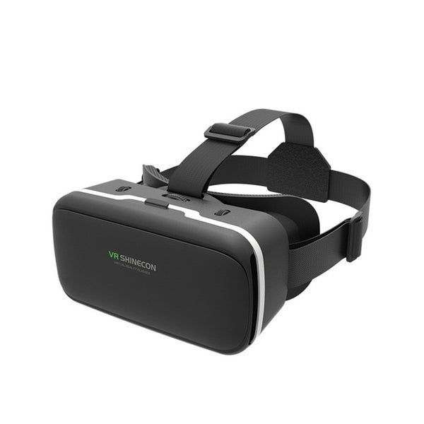 VR SHINECON 3D Virtual Reality Mobile VR Glasses Headset Cardboard Helmet SC-G04 For 3.5-6' Smartphone VR Games Video Films - firstcellphoneadvantage.com