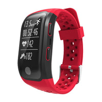 IP68 Waterproof Sports Smart Bracelet BT GPS Waterproof Wristband Strap Pedometer Fitness Tracker with Heart Rate Monitor - firstcellphoneadvantage.com