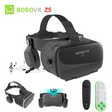 BOBOVR Z4 Update BOBO VR Z5 120 FOV 3D Cardboard Helmet Virtual Reality Glasses Headset Stereo Box for 4.7-6.2' Mobile Phone - firstcellphoneadvantage.com