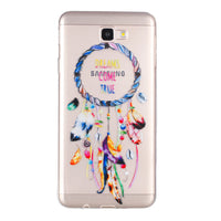 Fashion Aeolian Bells Pattern Protective Phone Cover Scratch-resistant Shockproof Soft Phone Case for Samsung - firstcellphoneadvantage.com