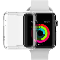 ASHEI Watch Cover for Apple Watch Case 42mm 38mm Series 3 2 1 Soft Slim TPU All-around Ultra-thin Screen Protector for iWatch - firstcellphoneadvantage.com