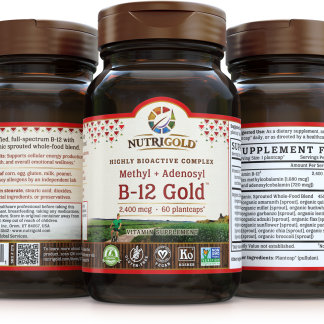 Nutrigold - B-12 Gold 60 Caps