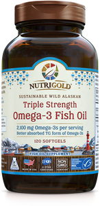 NutriGold Triple Strength Fish Oil