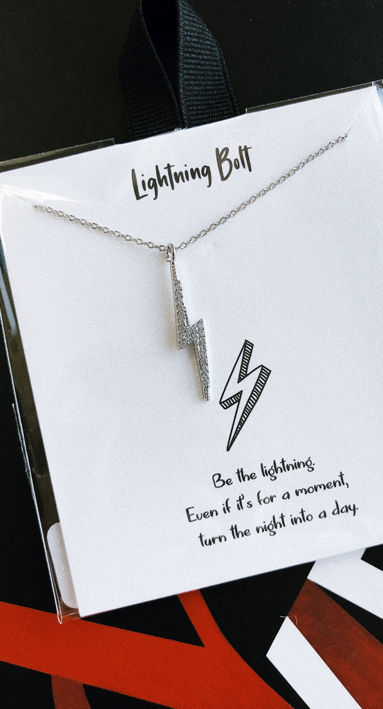 BE THE LIGHTNING NECKLACE