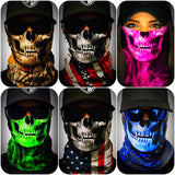 SA Fishing Face Shields - Skulls